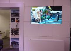 SMART technology установила бесшовную LCD видеостену